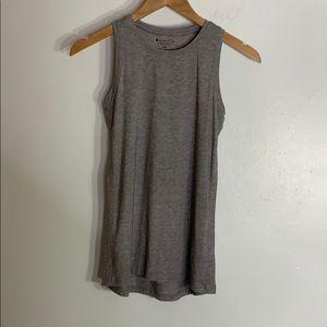 Athleta gray sleeveless tank top
